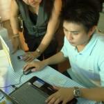 ภาพประชาชนร่วมทดลองใช้ www.saisawankhayanying.com