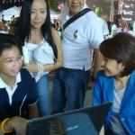 ภาพประชาชนทดลองใช้ www.saisawankhayanying.com