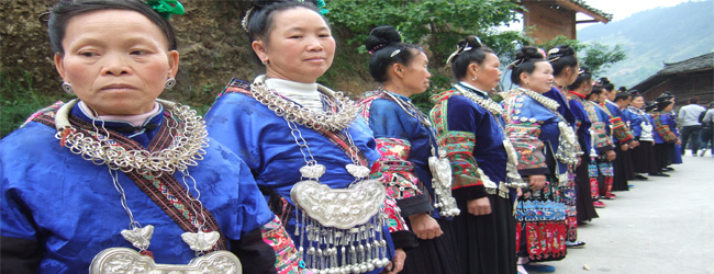 หมู่บ้านเหมียว (Kaili Xijiang Miao Village) ชนเผ่าพื้นบ้านของประเทศจีน