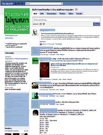พลิกโฉมสังคมไทยปรากฏการณ์ความขัดแย้งทางการเมืองในเครือข่ายสังคมออนไลน์