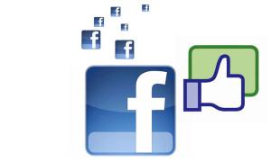 ภาพสัญลักษณ์เฟซบุ๊ค