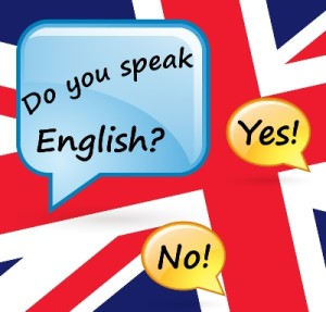 ภาพคำถามว่าคุณพูดภาษาอังกฤษได้หรือไม่