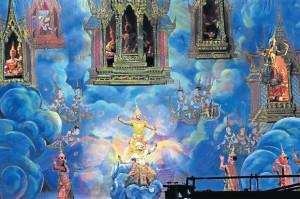 ภาพความงดงามโขนศิลปาชีพ นาฏศิลป์ชั้นสูงของไทย