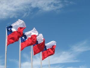 ภาพธงชาติสาธารณรัฐชิลี