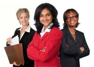 ภาพผู้หญิงที่มีความมั่นใจ และมุ่งมั่นสู่ความสำเร็จ