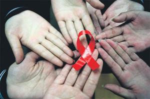 ภาพสัญลักษณ์การรณรงค์สถานการณ์เอดส์