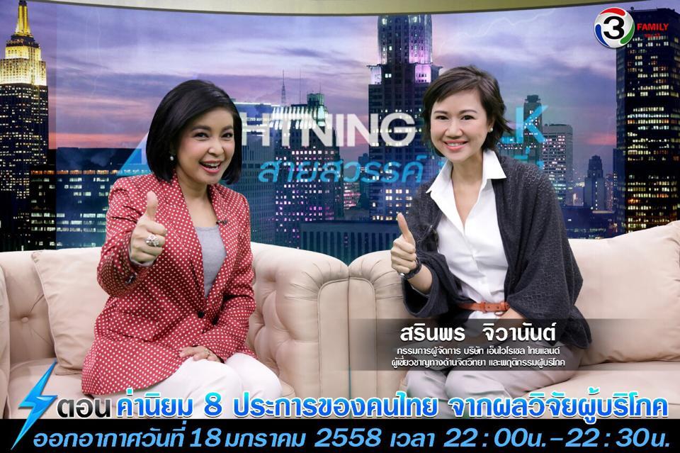 ค่านิยม 8 ประการของคนไทย จากผลวิจัยผู้บริโภค