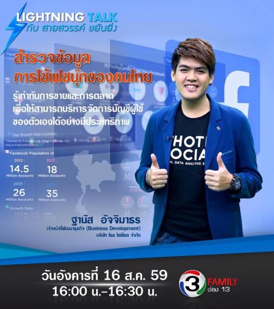 """""""คนไทยกับการใช้เฟซบุ๊ก"""""""